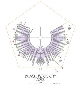 Black Rock City Map 2016